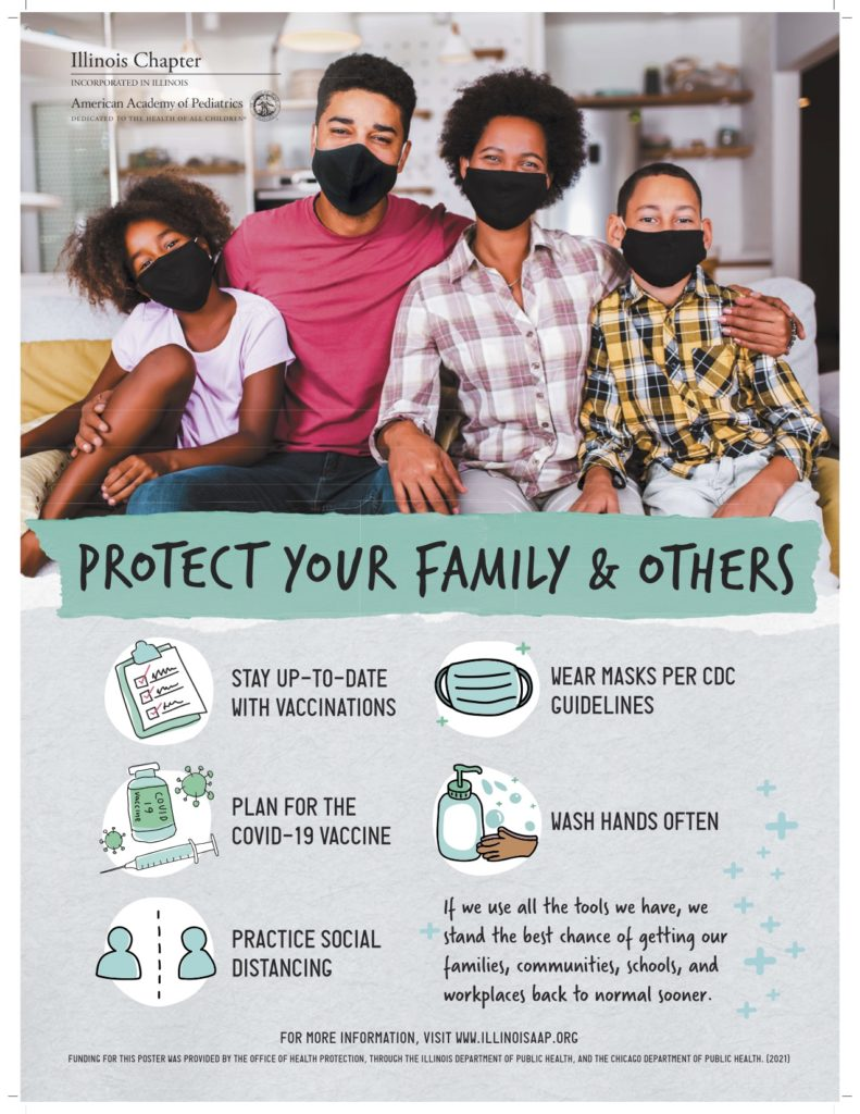 COVID poster_AA family
